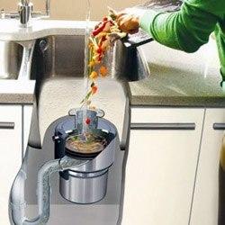 Установка измельчителя пищевых отходов в Стерлитамаке, подключение утилизатор пищевых отходов в г.Стерлитамак